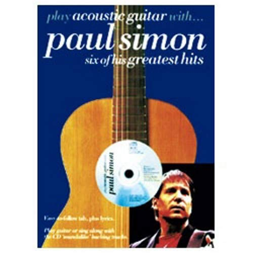 Play Acoustic Guitar With Paul Simon Six Of His Greatest ()