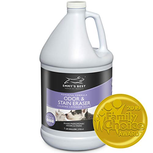 Emmy's Best Powerful Pet Odor Remover & Urine Eliminator Exclusive Enzyme Carpet Cleaner Takes Out Tough Stains, Odors