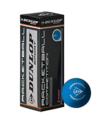 Dunlop Competition Racquetball Balles 762018