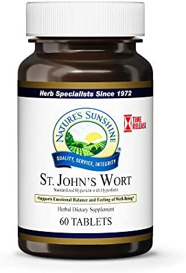 Nature s Sunshine St John s Wort Concentrate T R 60 Tablets