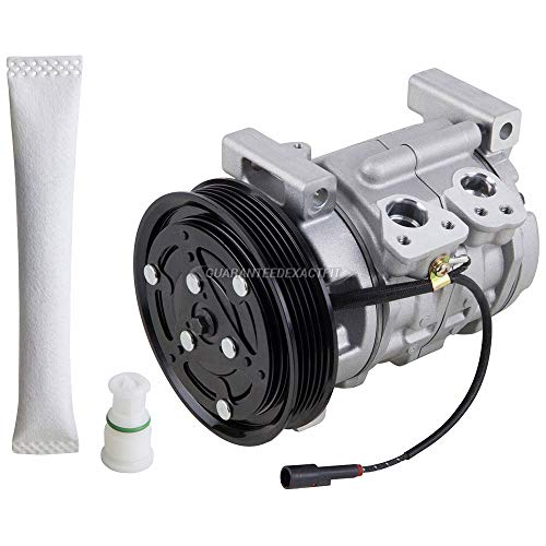 AC Compressor w/A/C Drier For Chevy Tracker 1999 2000 2001 2002 2003 - BuyAutoParts 60-86021R2 NEW