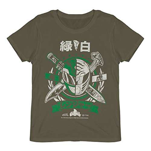 Mighty Morphin Power Rangers - Green Ranger T Shirt - Loot Crate Exclusive May 2015 (X (Mighty Morphin Power Rangers T-shirt)