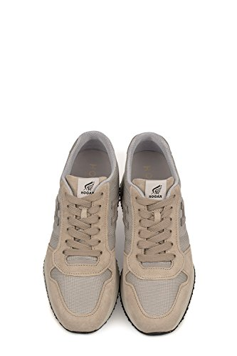 Men's HXM2460V590E4U1A24 Leather Hogan Sneakers Beige Grey PUWZ7nRq