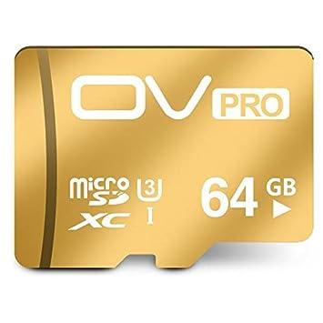 PhilMat Ov UHS-I u3 Micro SD 3.0 clase tarjeta de pro 10 ...