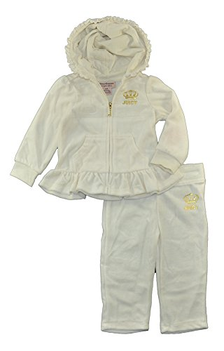 juicy-couture-baby-girls-2-piece-velour-hooded-jacket-and-pant-set-vanilla-24-months