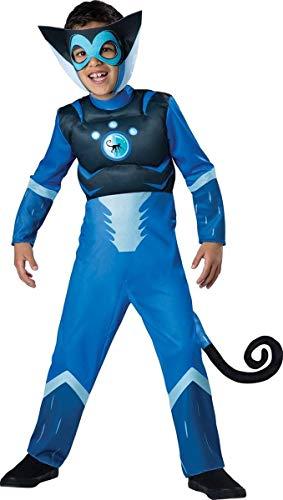 Wild Kratts Spider Monkey-Blue Costume, -