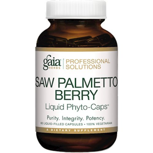 Gaia Herbs (Professional Solutions) Saw Palmetto Berry 60 lvcaps