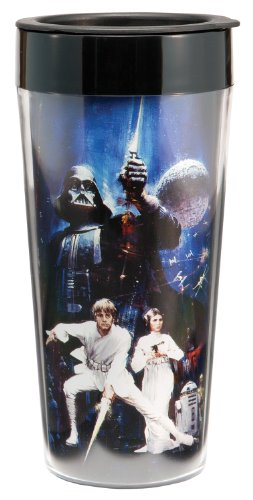 Vandor Star Wars Plastic Travel Mug