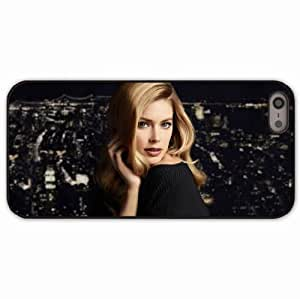 iPhone 5 5S Black Hardshell Case doutzen kroes blonde Desin Images Protector Back Cover