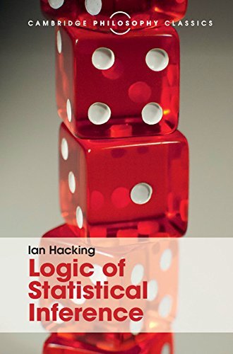 Logic of Statistical Inference (Cambridge Philosophy Classics)