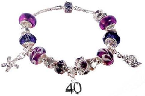 Bracelet Pandora Plaque Argent Avec Perles Amethyste Violet Theme Ocean Avec Coque Dauphin Etoile De Mer Amazon Fr Bijoux
