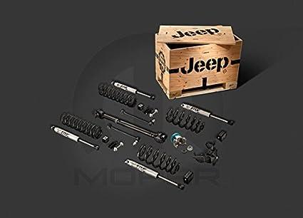 Mopar 2012-2015 Jeep Wrangler Four Door Two Lift Kit - 77070088AC