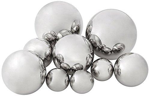 IMAX 10889-9 CKI Abbott Steel Decorative Ball, Set of 9
