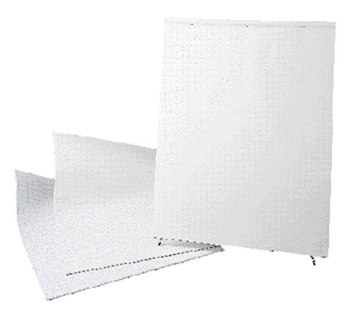 Economy Easel Flip Chart Pad - 1'' RULED 27x34, 25 sheets, 8 pads/case by Royal