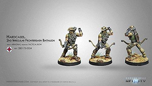 Ariadne Hardcases With Tactical Bow Miniature Corvus Belli