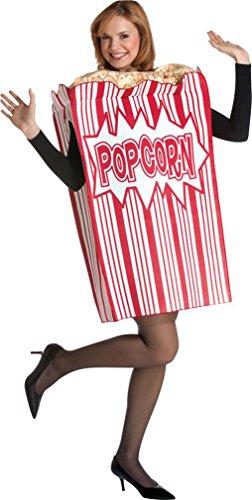 [Movie Night Popcorn Child Costume] (Popcorn Costume)