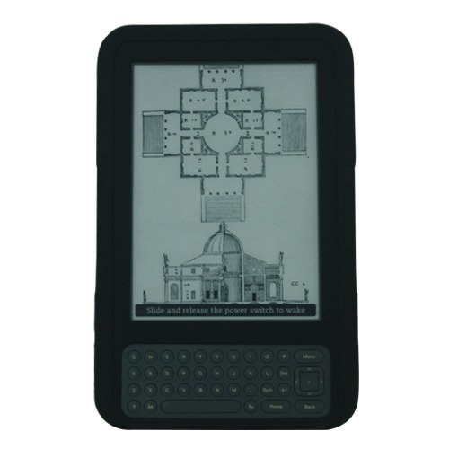 ishoppingdeals-black-textured-silicone-skin-case-cover-for-amazon-kindle-3-latest-generation