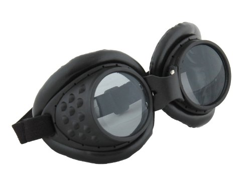 elope Radioactive Aviator Goggles, Black, One Size ()