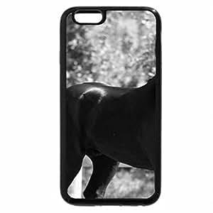 iPhone 6S Plus Case, iPhone 6 Plus Case (Black & White) - Black Presence