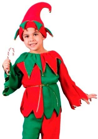 Amazon.com: Fun World de Papá Noel ayudante elfo de Navidad ...