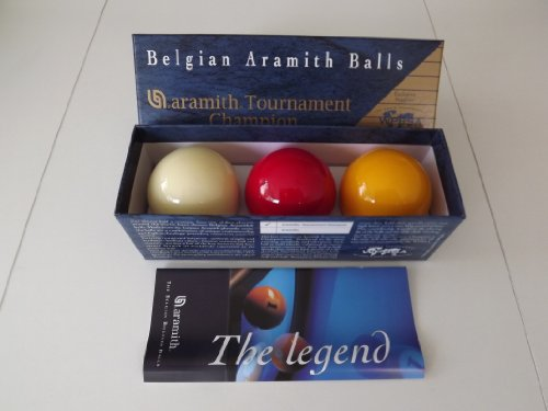 Belgian Aramith Tournament Quality Billiard Balls by Aramith