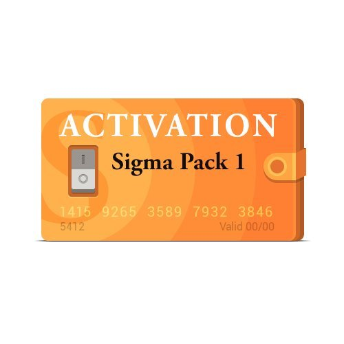 Picture of a Sigma Pack 1 Activation 712096151992