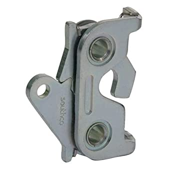 Zinc Plated Rotary Latch Nonlocking