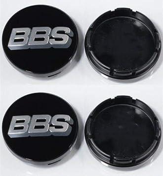 56mm BBS Black//Silver Carbon Fiber Wheel Centre Cap Sticker 3D 4x Sticker Only