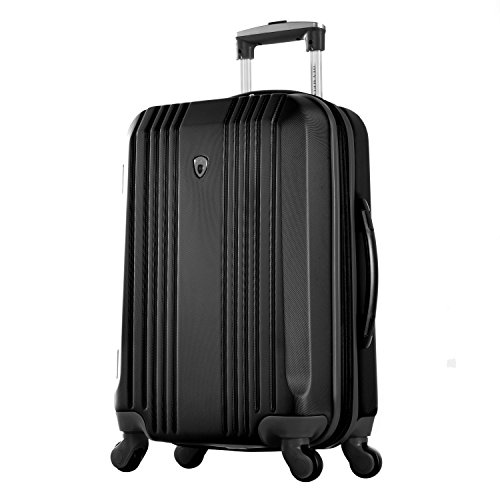 Olympia Apache Ii 21'' Carry-on Spinner, Black+Black by Olympia