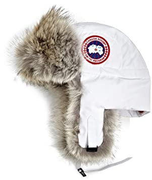 Canada Goose kids replica fake - Canada Goose Men's Aviator Hat,White,Large-X-Large: Amazon.ca ...