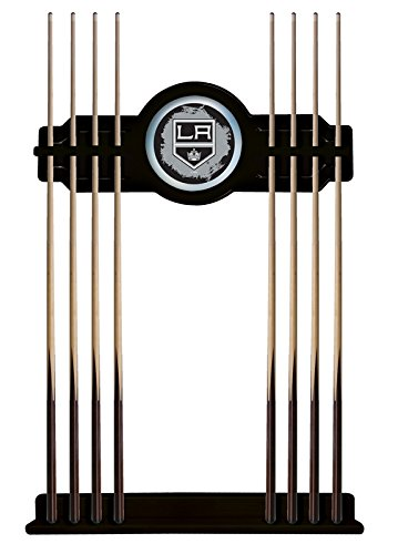 Los Angeles Kings Cue Rack in Black Finish by Holland Bar Stool Co.