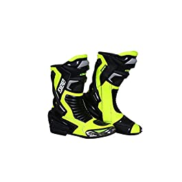 BIKING BROTHERHOOD Fluorescent Calf/Racing Boot