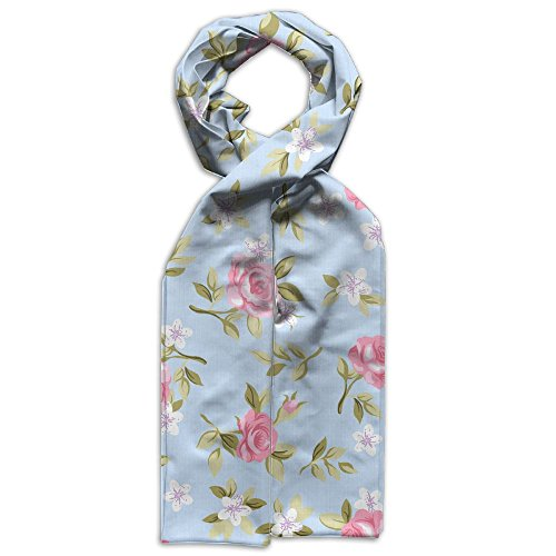 Price comparison product image Beautiful Blooming Flowers Simple Baby Comfortable Printed Warm Scarf
