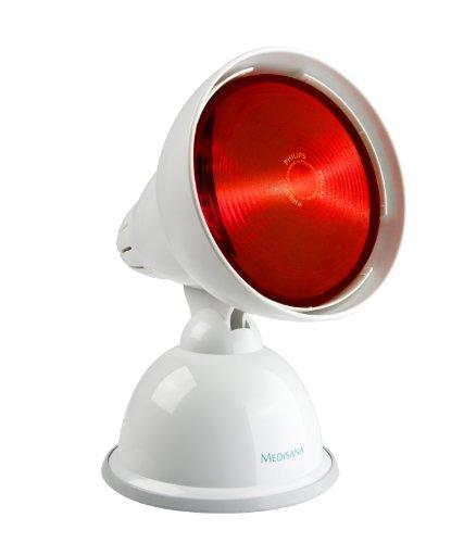 Medisana IRL Infrarot-Leuchte 150 Watt (zur Entspannung der Muskulatur oder Behandlung von Erkältungen)