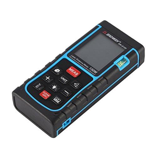 SNDWAY SW-E150 150M Handheld Laser Distance Meter Range Finder Trena Laser Rangefinder Laser Tape Measure Distance Tool