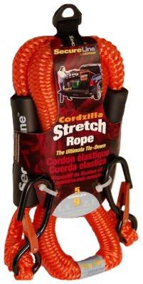 (Crawford-Lehigh CZB5 5-Feet Cordzilla Stretch Rope, Red)