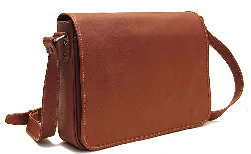 Floto Toscana Italian Leather Messenger Bag by Floto