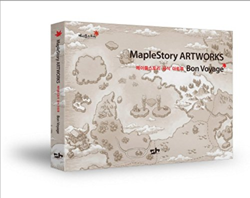 MapleStory Art Works Book Game Character Korean Collection Illustration Gift Fun + 1 Free Gift Giraffe Bookmark