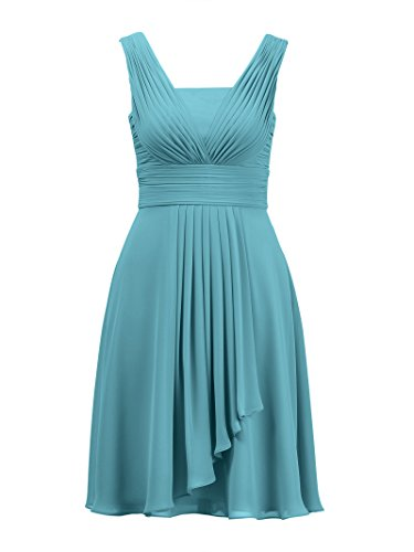 Short Bridesmaid Wedding Cocktail Women Dress Alicepub Dresses Party for Turquoise Evening H4yZq