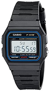 Casio Men's Classic Black Resin Strap Watch Digital F91W-1 (B000GAWSDG) | Amazon Products