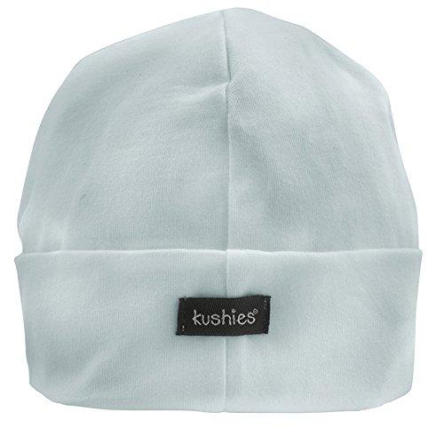 Kushies Organic Baby Cap, 1-3m, (Kushies Baby Cap)