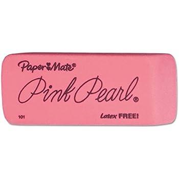Paper Mate 70520 Pink Pearl Premium Erasers, 48 Medium Erasers
