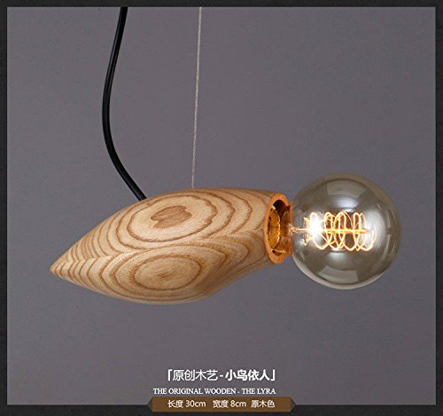 - Modern Chandelier,Suitable for: Hotel, Living Room, Dining Room.Solid Wood Mango Shaped Wood Chandelier Chandelier.