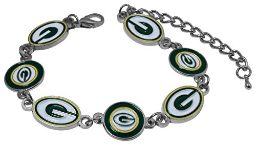 NFL Green Bay Packers Logo Bracelet