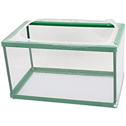 uxcell Nylon Mesh Fish Fry Hatchery Breeder Box Separation Net 26.5x15x15.5cm