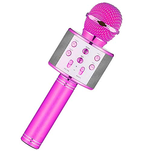 Niskite Toys for 3-16 Years Old Girls Gifts,Karaoke Microphone for Kids Age 4-12,Best Fun Birthday Gifts for 5 6 7 8 9 10 11 Years Teens Girl Boys