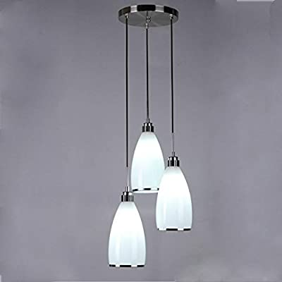 YanCui@ 220V modern minimalist chandelier dining room kitchen lamp
