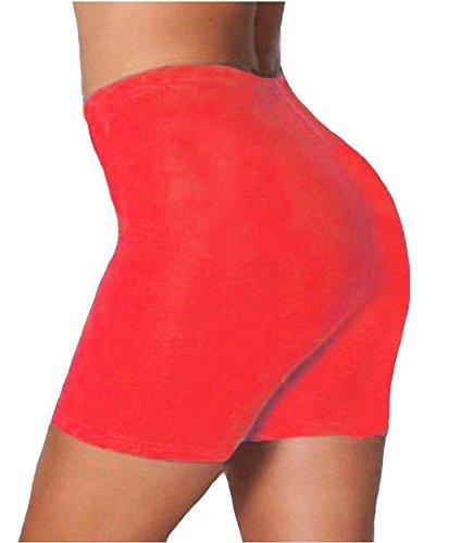 Women Girls Lycra Cotton Cycling/Dancing Shorts Leggings Lad