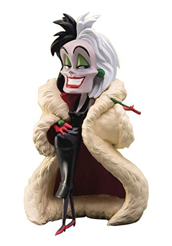 Beast Kingdom Disney Villains: Mea-007 Cruella De Vil Mini Egg Attack Statue, Multicolor ()