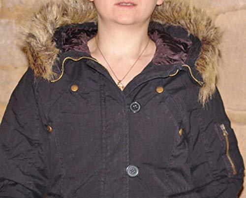 L Blouson Femme cedric Boutonné Zipé Pierre Doudoune amp; Doublé xZqFnSx8fw